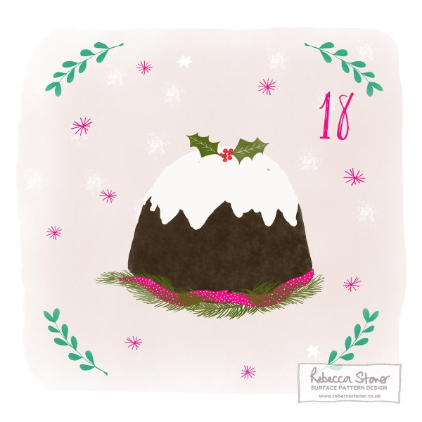 Illustrated Advent Day 18 by Rebecca Stoner