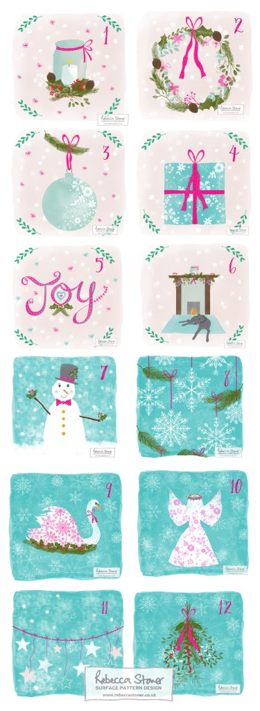 Illustrated Advent by Rebecca Stoner