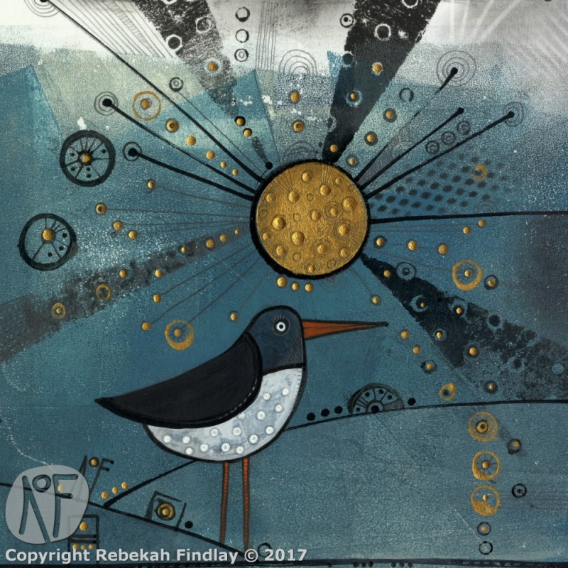 Oyster Catcher In The Sun - SOLD