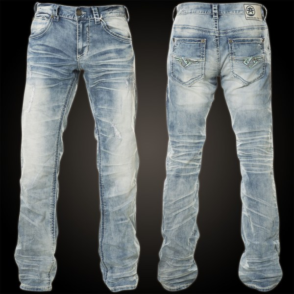 American Fighter Jeans Heritage Camo Trenton With Faux