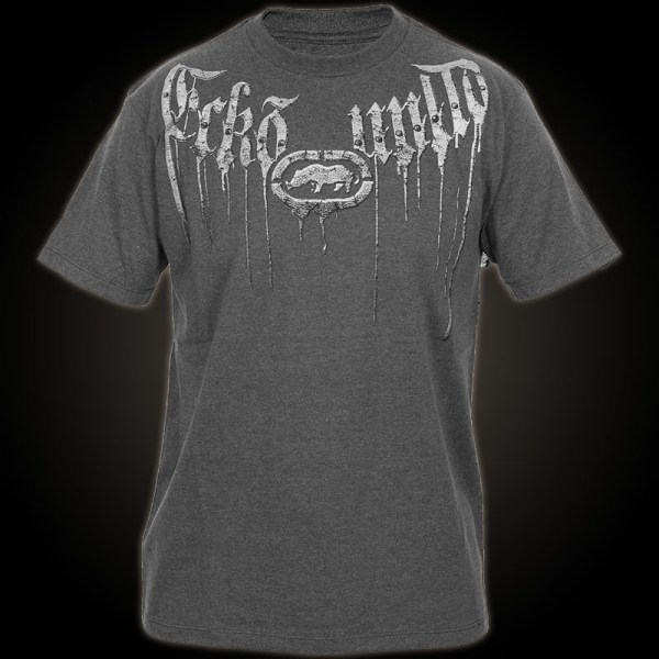 Ecko Unltd. Mma T-shirt Crazed. Grey Features