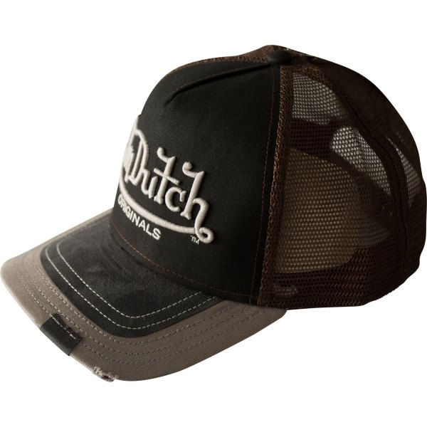 Logo Vdht 001 Premium Trucker Cap Von Dutch With