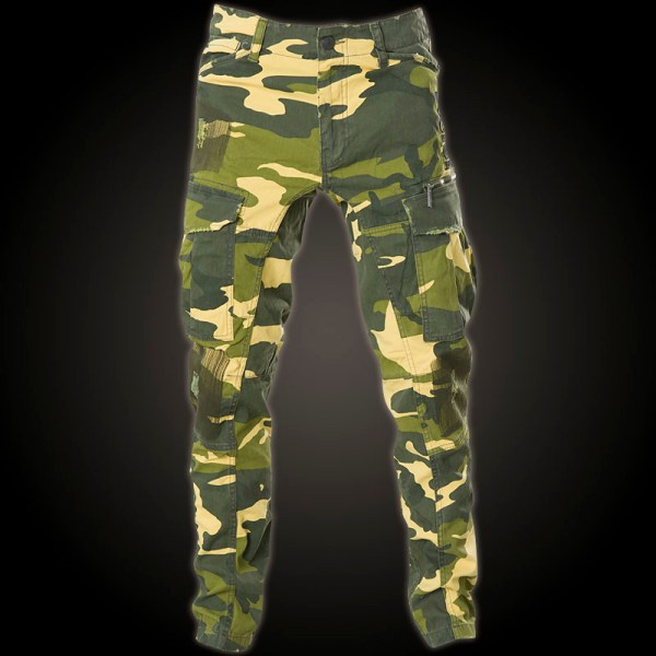 Yakuza Industrial Cargo Pant Cpb-8041 With Camouflage