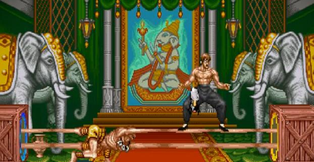 Street Fighter II meets Portal