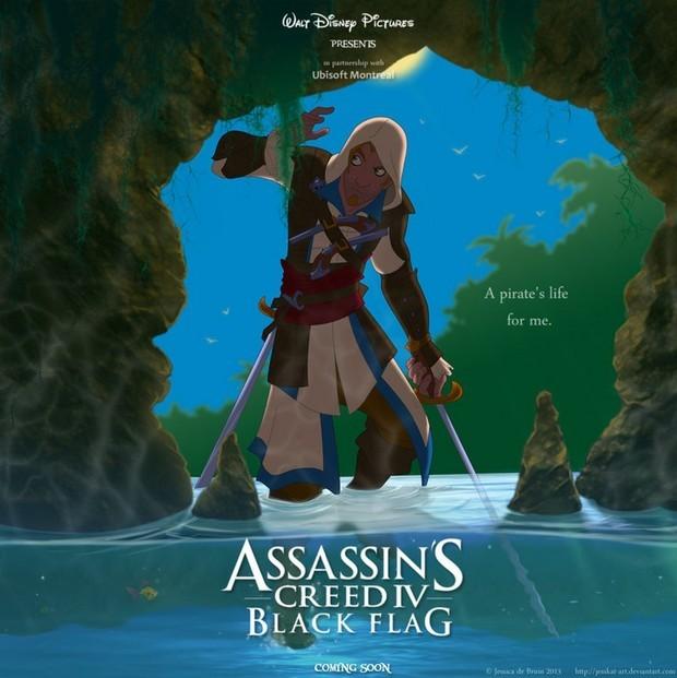 Assassins Creed IV Disney Cartoon
