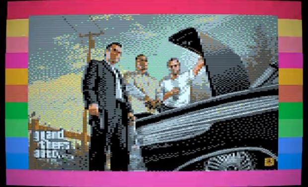 GTA V Commodore 64