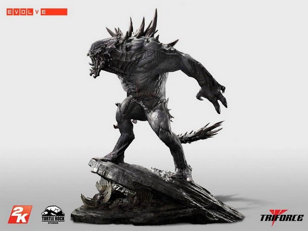 Evolve Statue 1