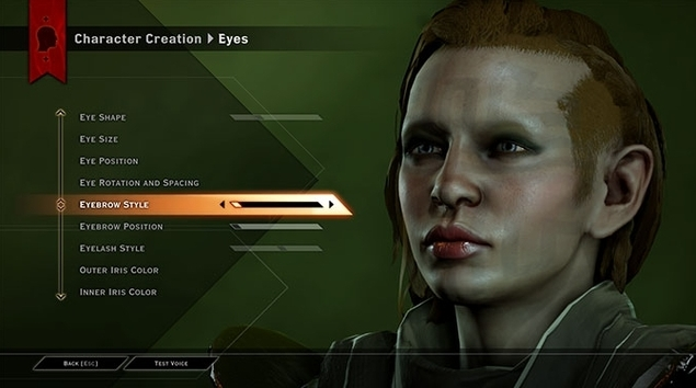 Dragon Age: Inquisition Charaktererstellung