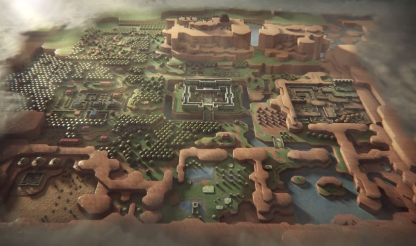 The Legend of Zelda: A Link to the Past Intro im Game Of Thrones Look