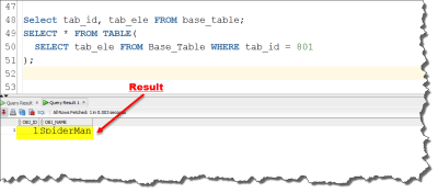 how to create nested table using user define datatype by manish sharma