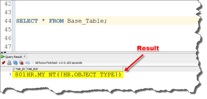 how to create nested tablke using user-define datatype by manish sharma