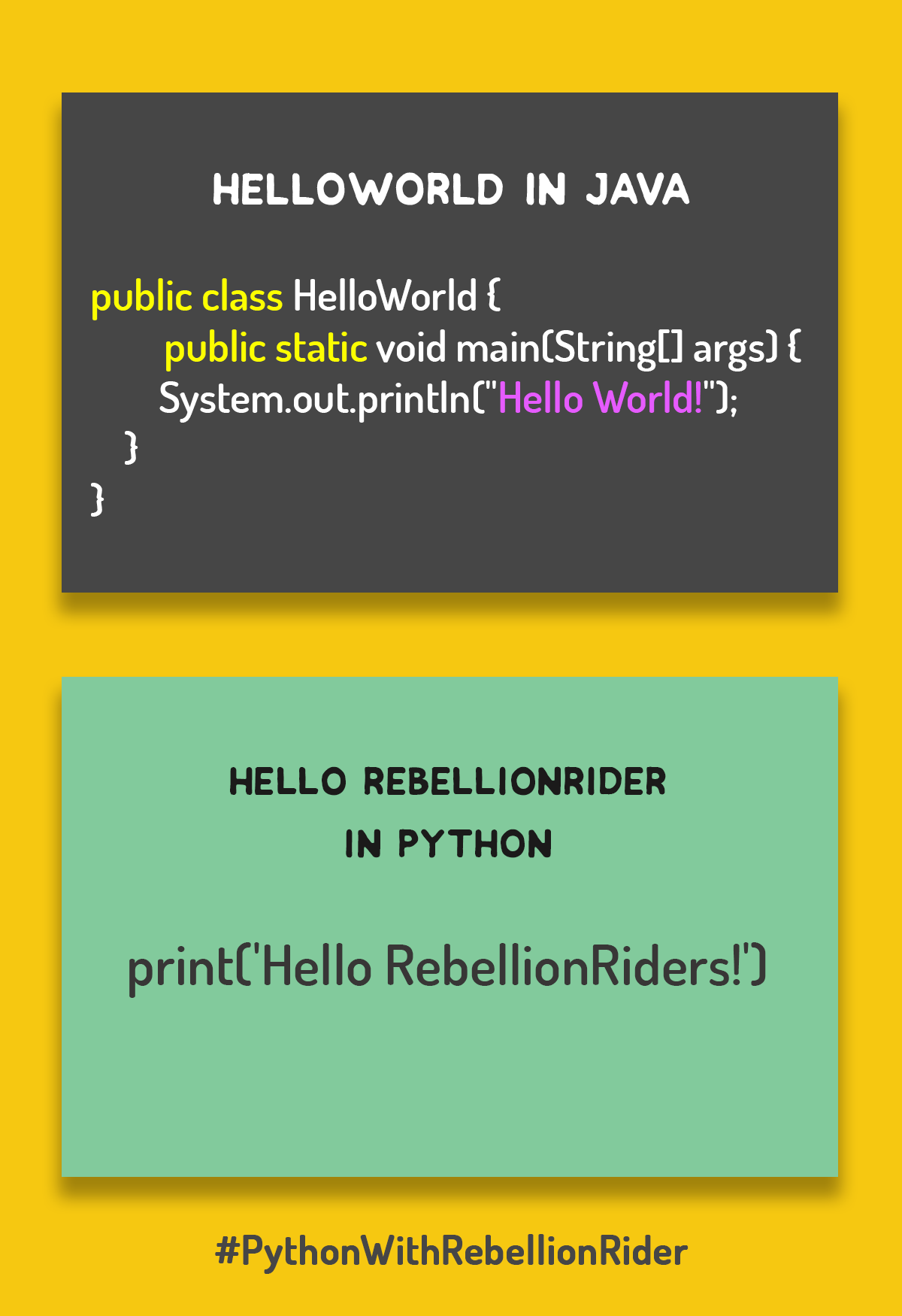 How To Build An Empire With Python Programming | RebellionRider