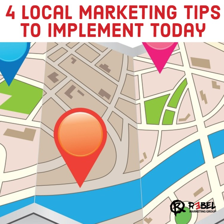 Local marketing tips