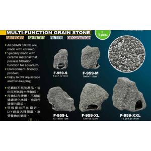 Multi-Function Grain Stone detail at Rebel Pets