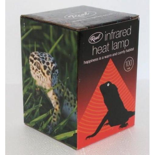 Infrared Heat Lamp 100w at Rebel Pets