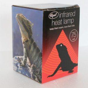 Infrared Heat Lamp 75w at Rebel Pets