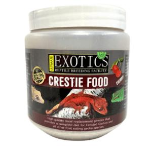 Ultimate Exotics Crestie Food 50g - Cherry at Rebel Pets