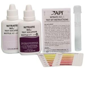 API Nitrate Test Kit contents at Rebel Pets