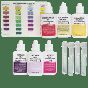 API Saltwater Master Test Kit-550 contents at Rebel Pets