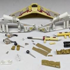 4 - Titanium Ultra Republic Gunship disassembled