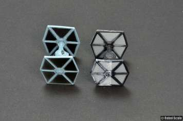 Imperial TIE uses FO TIE wing molds