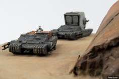 Bandai Combat Assault Tanks