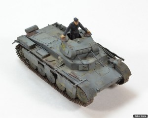 Panzer II with schurzen