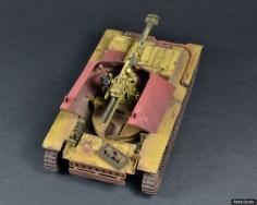 Trumpeter Waffentrager leFH18