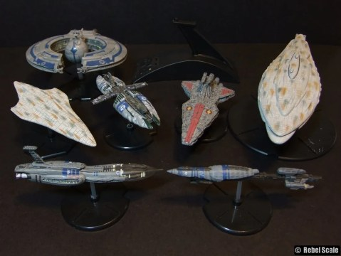 Assorted starships
