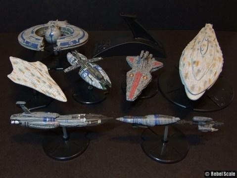 Assorted starships