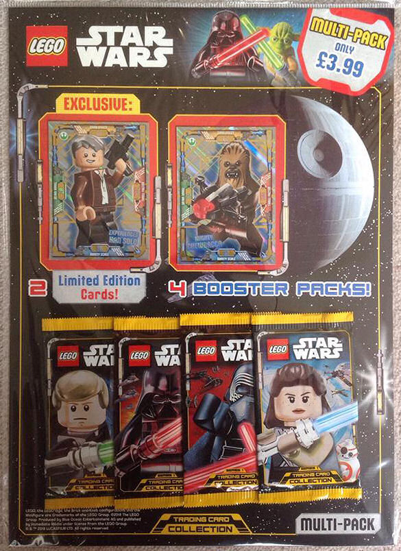 LEGO Star Wars Trading Cards Hit The UK