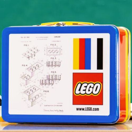 LEGO gift-with-purchase lunchbox