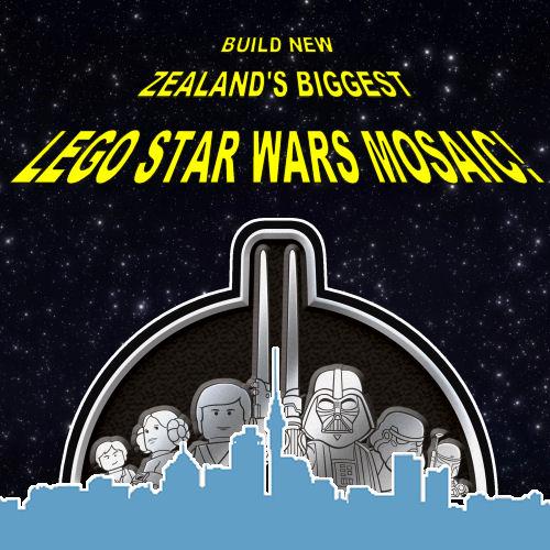 LEGO Star Wars mosaic