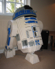 Lefe-size R2-D2 gifted to Giant from LEGO