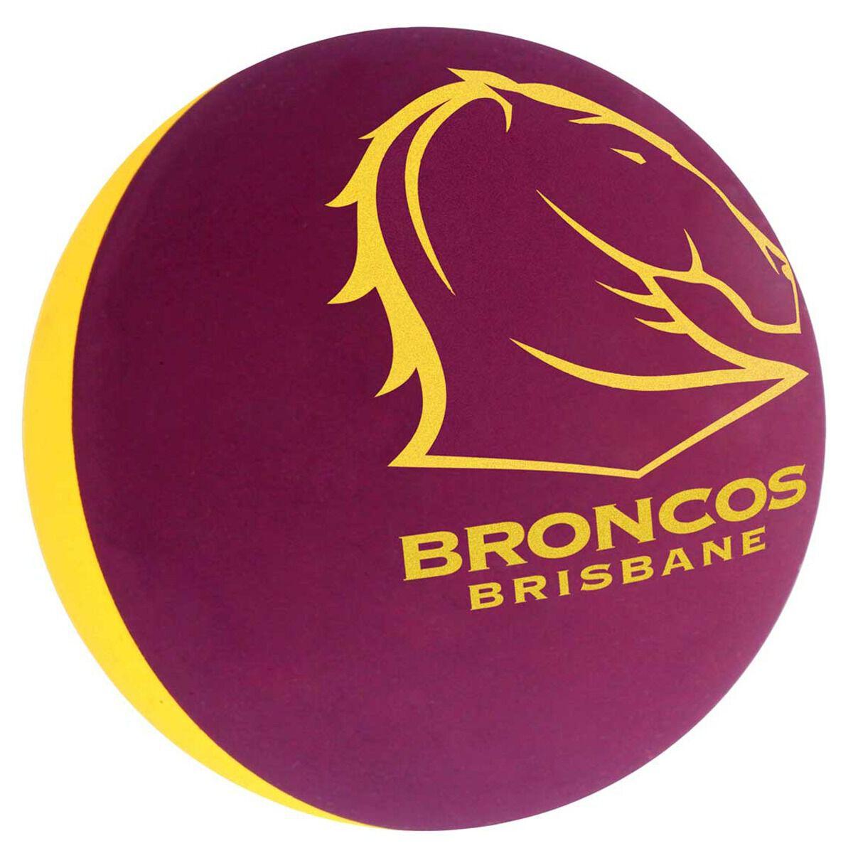 Brisbane Broncos High Bounce Ball  Rebel Sport