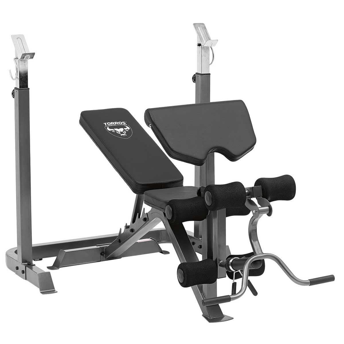 Torros Pro55 Deluxe Weight Bench Rebel Sport