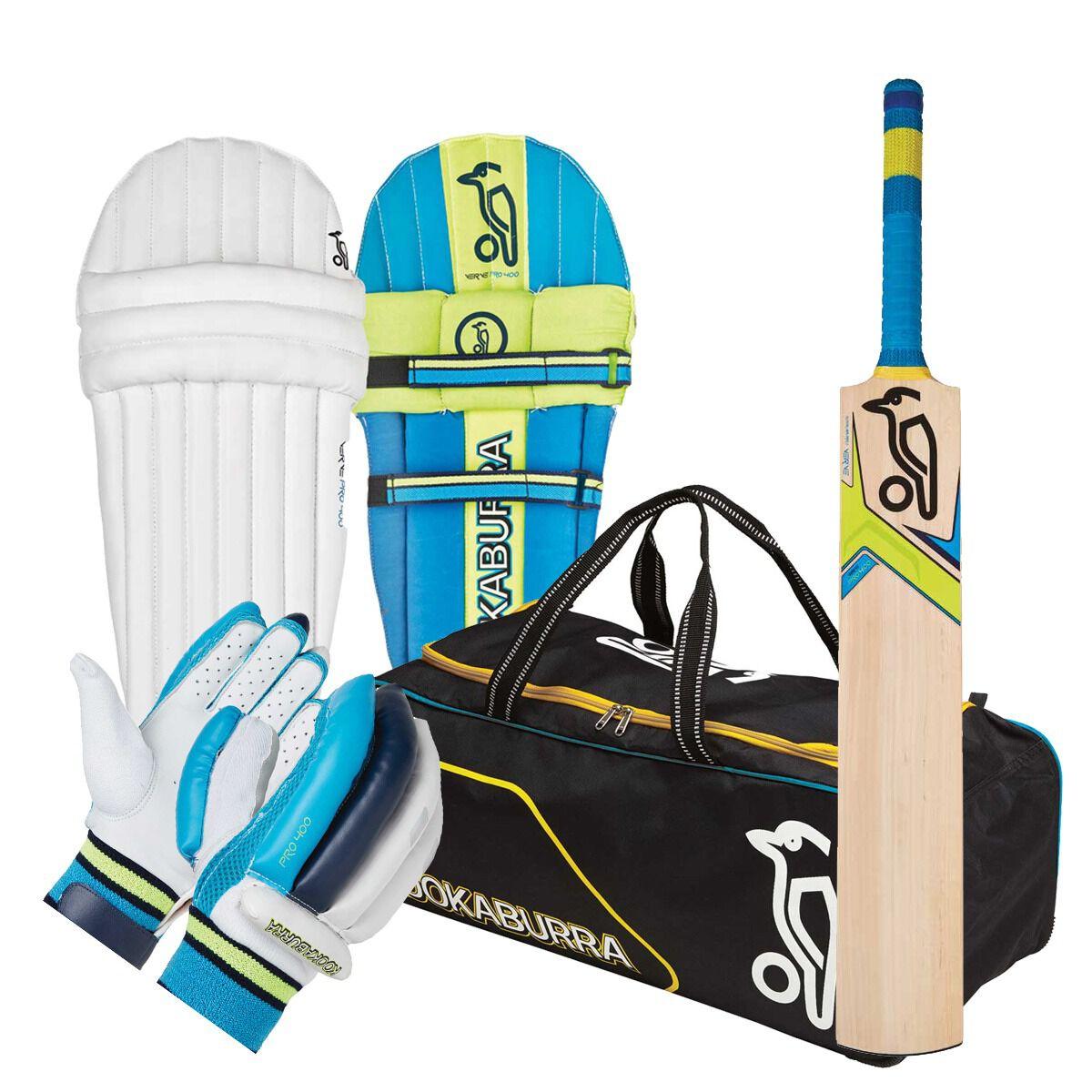 Kookaburra Verve Pro 400 Junior Cricket Set  Rebel Sport