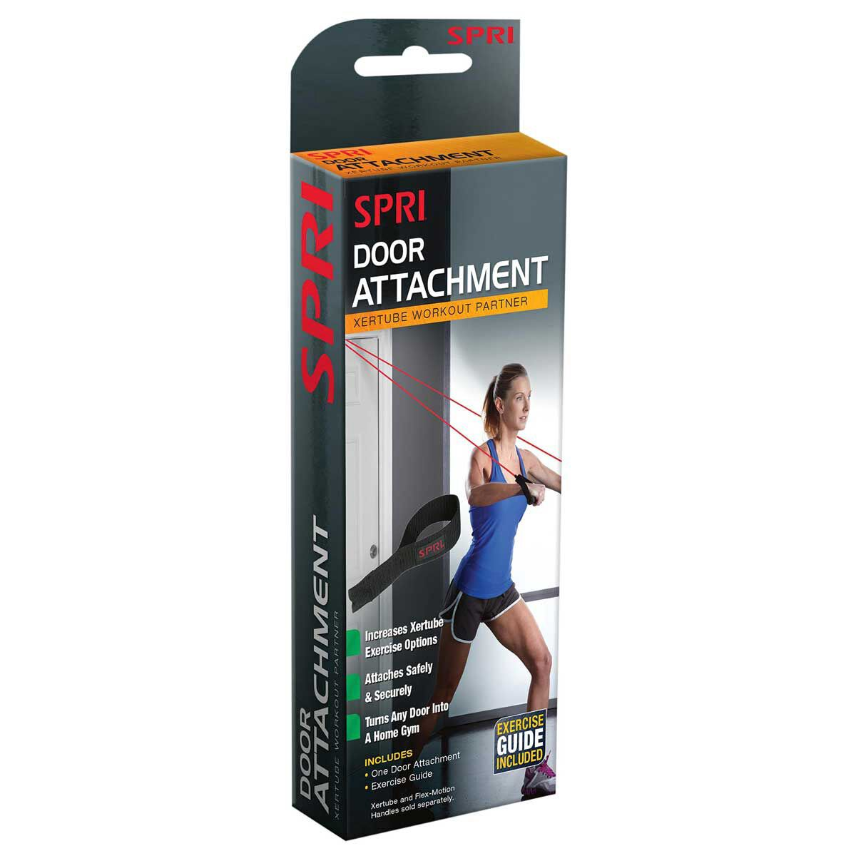 Spri Door Attachment Black Rebel Sport