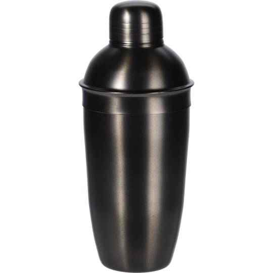 Gun Metal Black Cocktail Shaker