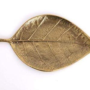 Gold Metal Leaf Dish