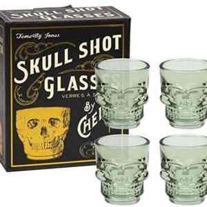 Skull Shot Glasses Set of 4