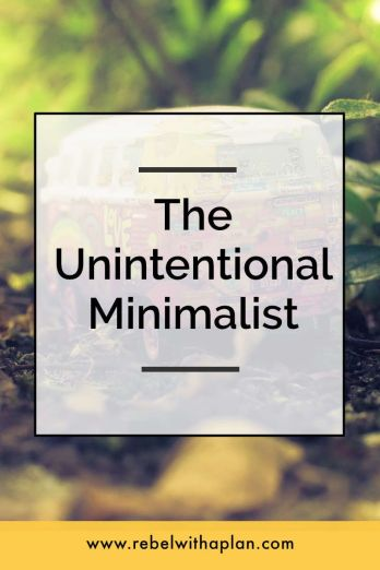 For years I paired down my belongings, decluttered, and was intentional with my purchases. I was an unintentional minimalist. The idea of minimalism still isn't completely sold on me. Click through to read more