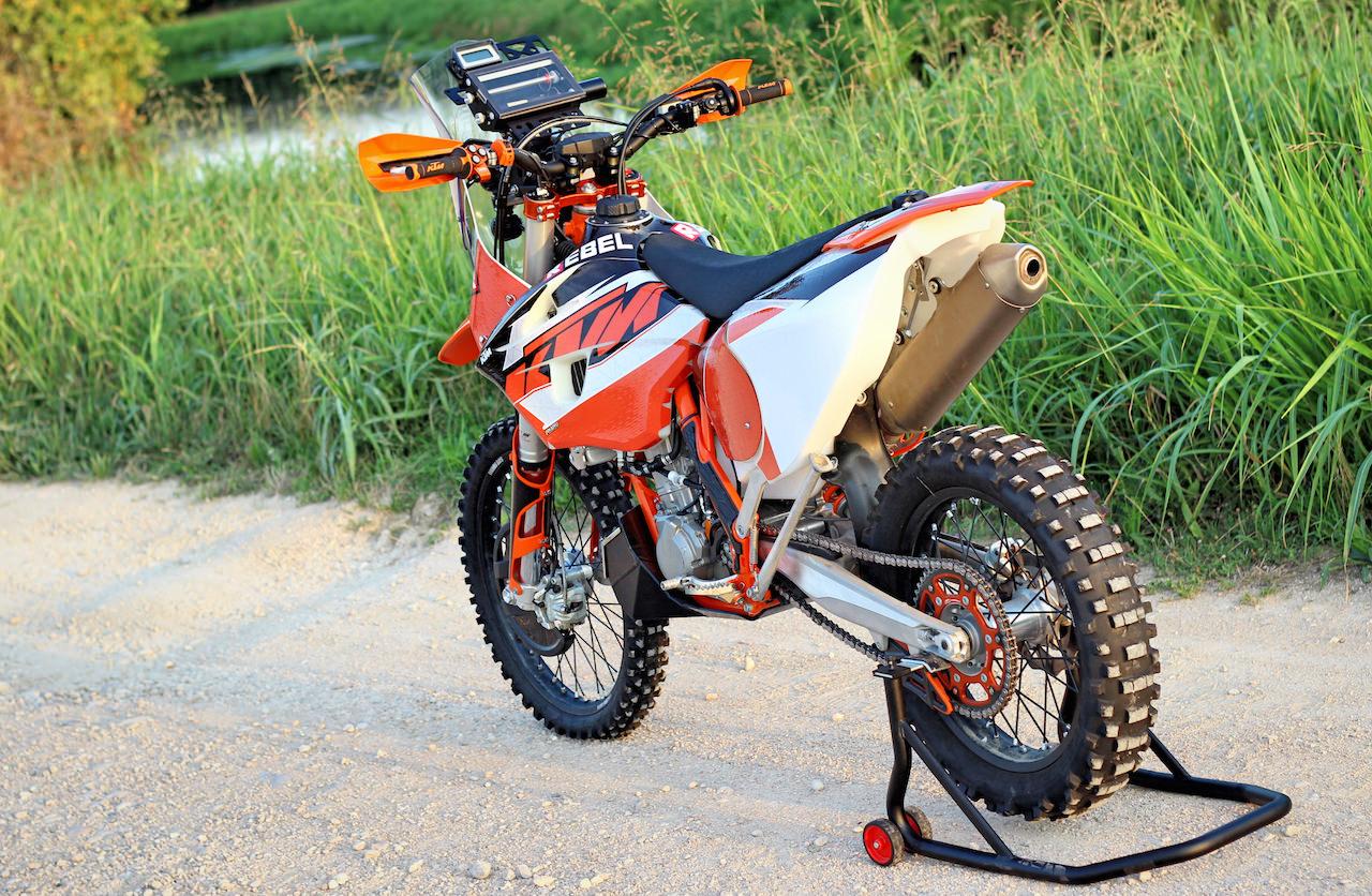 Ktm Exc Rally Build