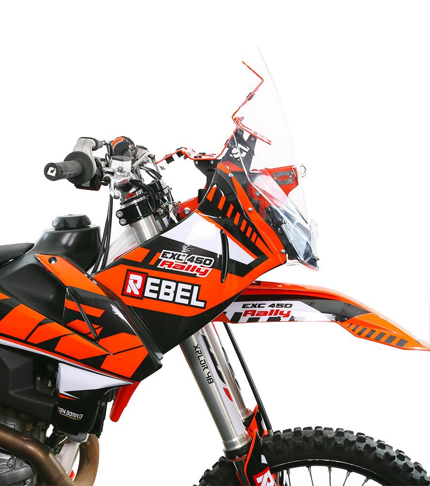 medium resolution of ktm exc 2017 18 19 rally kit rebel x sports srl