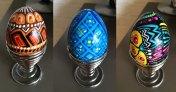 trio-painted-eggs