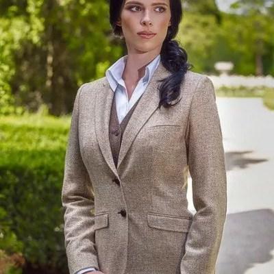 Tweed-Jacket für Damen