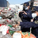 China recycling inspections ports that solid waste
