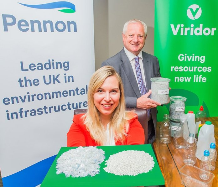 Viridor Phil Piddington and Pennon Sarah Heald