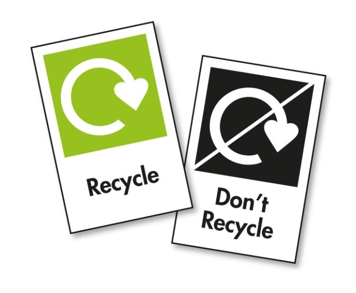 OPRL packaging recycling label