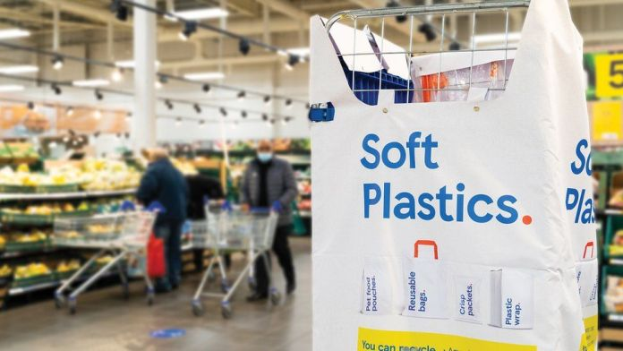 Soft plastics recycling Tesco